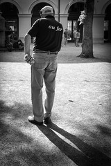 boule (Alexander.Hls) Tags: city shadow blackandwhite munich boule bouleplayer
