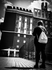 U (SchillingD) Tags: life street people urban white streetart black art germany deutschland lumix lights blackwhite streetphotography menschen urbanart u 20mm kontrast dortmund bnw personen streetshot dortmunder einfarbig streetphotografie streetfotography streetfotografie gf7