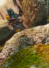 So you think you can run... (Broken Forge Photography) Tags: toys actionfigure starwars bobafett bandai toyphotography movierealization