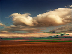 Peaceful valley (Katarina 2353) Tags: sunset film landscape spring nikon katarinastefanovic katarina2353 serbiainspired