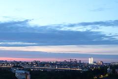City lights (ulricaloeb) Tags: light sky cloud landscape view stockholm ljus essingeleden dnskrapan fotosondag fs160522