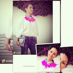 Buenas noches a todos! A por el viernes!!!!!! Besos mil!!!!! #elblogdemonica #look #lookdeldia #ootd #outfits #outfitsideas #inspiracion #maxicollar #colores #primavera #happy #tagsforlikes #follow4follow #follow4follow #followme #fashion #blogger #bigger (elblogdemonica) Tags: hat fashion shirt bag happy shoes pants details moda zapatos jacket trendy tendencias looks pantalones sombrero collar camiseta detalles outfits bolso chaqueta pulseras mystyle basicos streetstyle sportlook miestilo modaespaola blogdemoda springlooks instagram ifttt tagsforlike elblogdemonica