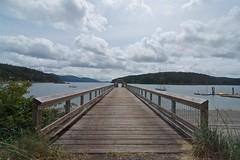 Dock (Whistler Whatever) Tags: water clouds boat dock orcasisland sanjuanislands straightofjuandefuca tokinaatx116prodxaf1116mmf28