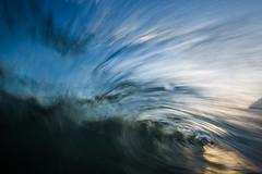 Time Warp (oreonphotography) Tags: ocean california longexposure light sunset sky art nature water barrel wave slowshutterspeed waterporn