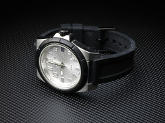 Cerruti Roma (--Pixel--) Tags: test black roma canon point photography shoot time background tripod watch indoor timepiece pointandshoot product lowkey pointshoot testshot s110 cerruti productphotography canons110