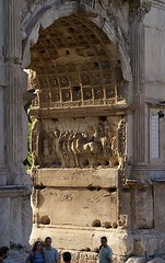 Ancient Rome. Emperor Titus Arch, Roman Forum, Rome (mike catalonian) Tags: arch emperor titus ancientrome romanarchitecture