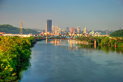 TG 16 05 28 016 (pugpop) Tags: downtown pittsburgh pennsylvania hdr alleghenyriver 2016