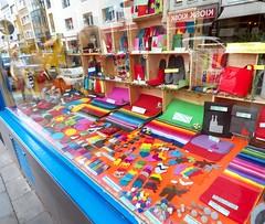 Cologne Felt Shop Window (samsaundersleeds) Tags: köln cologne felt shopwindow colours feltshop