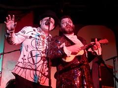 Sexy KC 27/06/16: Foster & Gilvan #3 (Diamond Geyser) Tags: show music clown onstage 100club princetribute karaokecircus fozfoster barongilvan fostergilvan fosterandgilvan sexykc