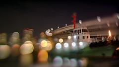 port of call -  (turntable00000) Tags: extrabokeh odaiba minato tokyo japan ship light night bokehlicious nightscape