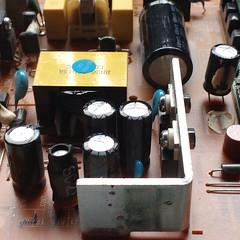 LCD monitor repair (tinkertronix) Tags: bulging capacitors lcdmonitorrepair bulgingcapacitors