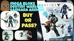 Mega Bloks DESTINY Warlock Samsara Armory Review (ChewyBricks HD) Tags: lego bricks destiny megabloks warlock awesomeness