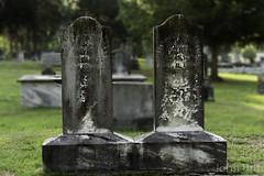 Tombstone (kudzu 70) Tags: history cemetery ga georgia military historic marietta