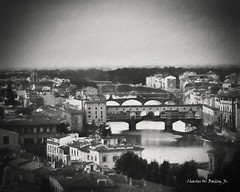 Digital Pencil Drawing of a View of Florence from the Piazzale Michelangelo by Charles W. Bailey, Jr. (Charles W. Bailey, Jr., Digital Artist) Tags: italy art photomanipulation photoshop florence europe artist drawing fineart digitalart visualarts topaz pencildrawing alienskin digitalartist topazlabs alienskinsoftware topazdenoise topazdejpeg snapart4 charleswbaileyjr topazimpression