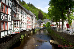 2305 (Bethie Inthesky) Tags: city house river germany resort oldtown monschau halftimberedhouse
