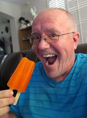 June 19, 2016 (329/365+3) (gaymay) Tags: california gay orange love desert coachellavalley inside popsicle selfie riversidecounty rainbowgame