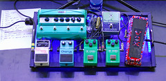 DSC_0374ap (Grudnick) Tags: boss rock concert livemusic band jazz blues maryland roland vox pedalboard hagerstown stompbox efx ibenez guitareffects electroharmonix anapopovic westernmarylandbluesfest anapopovicband line6dl4delaystompbox
