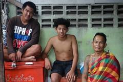 men sitting (the foreign photographer - ) Tags: men portraits thailand three sitting bangkok sony bang bua khlong bangkhen rx100 dscjun182016sony