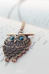 OWL (zahira photography) Tags: canon photography necklace photographer owl
