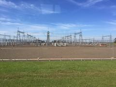Itaipu Dam power station