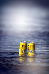 never let a photo op pass you by (dK.i photography) Tags: beach water beer yellow mexico surf cerveza can photoop rivieranayarit sliderssunday