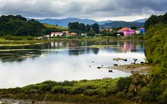 _DSC4004 (allabar8769) Tags: rboles paisaje casas cicero cantabria reflejos vegetacin marismas