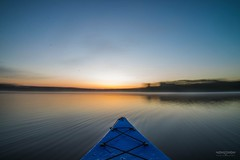 Yakin (Parkerfuller1) Tags: morning blue yak lake fog sunrise river movement nikon stream long exposure kayak slow angle wide paddle calm motionblur shutter viper paddling ultra 1024 d600 tamaron