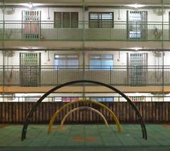Nam Shan Estate  (wilwilwilsonsonson) Tags:  namshanestate    publichousingestate publichousing  neighbourhood symmetry   hongkong