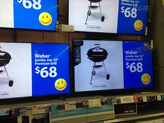 Walmart - Manassas (East), VA: The Return of Smiley (batterymillx) Tags: television retail virginia tv ad walmart advertisement commercial smiley manassas grocery