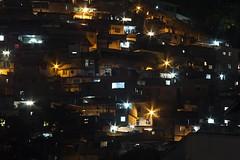 Cerro-Cor Slum - Rio de Janeiro (AdrianoSetimo) Tags: city longexposure nightphotography cidade riodejaneiro nightscape favela lightandshadow slum diffraction longaexposio comunidade cosmevelho canonfd guararapes cerrocor difrao colgiosovicentedepaulo canonfd75200mm panasonicgx7