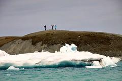 Silhuetas!! (puri_) Tags: monte islandia silhuetas gelo glaciar lagoa agua verde picmonkey jokulsrln