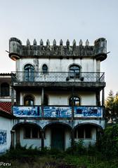 Balcon de azulejos (Perurena) Tags: house tower casa arquitectura torre decay balcony jardin mansion balcn garde azulejos abandono urbex urbanexplore