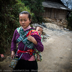 _DSC4130 (Jason WastePhotography) Tags: life street travel people nature field asia child vietnam land hanoi sapa hmong laocai