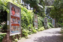 History of Portugal in tiles (Brian Ritchie) Tags: portugal gardens monte madeira funchal montepalacetropicalgardens