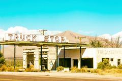 Truck Stop (Thomas Hawk) Tags: usa abandoned america texas unitedstates fav50 unitedstatesofamerica gasstation truckstop sierrablanca fav10 fav25 fav100 hudspethcounty