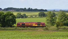 DB Cargo 67022 at North Anston (parkgateparker) Tags: dbcargo 67022 northanston southyorkshirejoint syjnt