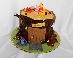 Winnie the pooh cake (nan4eto) Tags: cake pooh stump winnie