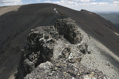 "Rocky goat traverse between Otokomi and East Flattop • <a style=""font-size:0.8em;"" href=""http://www.flickr.com/photos/63501323@N07/28052355221/"" target=""_blank"">View on Flickr</a>"