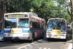 IMG_4342 (GojiMet86) Tags: mta nyc new york city bus buses 1999 2004 orion vii geni hlf t80206 rts 5169 6443 q27 37th avenue main street