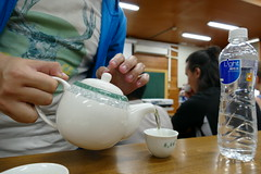 P1000419 (isobelannan) Tags: reading book yum tea ceremony class ntu greentea mammals oolong formosantea