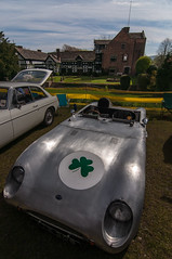 Silver Shamrock (ripleym78) Tags: house car silver automobile racing shamrock motorcar buckler gawsworth gawsworthhall silvershamrock