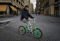 Iago - SalaBiKER (Walimai.photo) Tags: color colour verde green bike bicycle lumix panasonic explore ciclista bici biker salamanca lx5