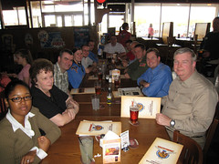 "Monthly Taco Mac Safety Meeting • <a style=""font-size:0.8em;"" href=""http://www.flickr.com/photos/78874535@N07/8728023557/"" target=""_blank"">View on Flickr</a>"