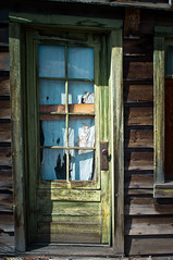 May 10: Old Door (brucegcco) Tags: abandoned spring colorado grandlake olddoor vivitar28mmf28closefocus singleinmay2013