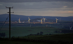 A view changed (Benvironment's Photos) Tags: sunset fife environment windfarm mossmorran renewables