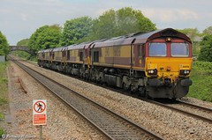 Saturday convoy (williams60074) Tags: convoy pyle class66 66065 0o12