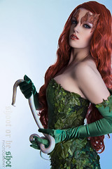 Poison Ivy & her venomous friend (Shoot or be Shot Photography - - Danica Stonhouse) Tags: life city red green nerd for snake ivy super batman dccomics powers gotham sirens posion