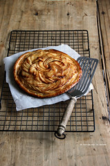 tartefine005 (la cerise sur le gteau) Tags: food cooking apple pie dessert photography baking tasty pommes delicious patisserie pastry tart tarte