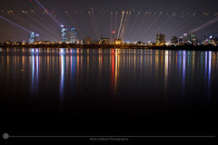 Urbanscape Han River (MarkDeibertPhotography) Tags: city urban water night lights cityscape view zoom korea seoul southkorea urbanscape hanriver
