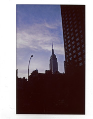 Empire State Building In The Evening On Instax 210 Wide Film; New York, New York (hogophotoNY) Tags: newyorkcity usa ny newyork color film skyline analog unitedstates united landmark empire instant empirestatebuilding empirestate newyorkstate newyorknewyork instantcamera instax instantphotography instantphoto landmarkbuilding instantfilm fujiinstant nylandmark famousbuilding landmarkbuildings instaxinstantfilm fujiinstantfilm instaxwide instaxfilm newyorkus instaxfujifilm instaxwidefilm instaxinstantcamera